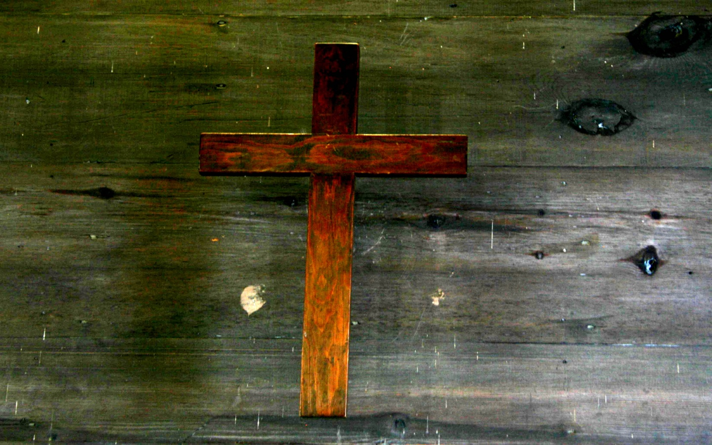 Wood Cross Wallpaper   Christian Wallpapers and Backgrounds 1440x900