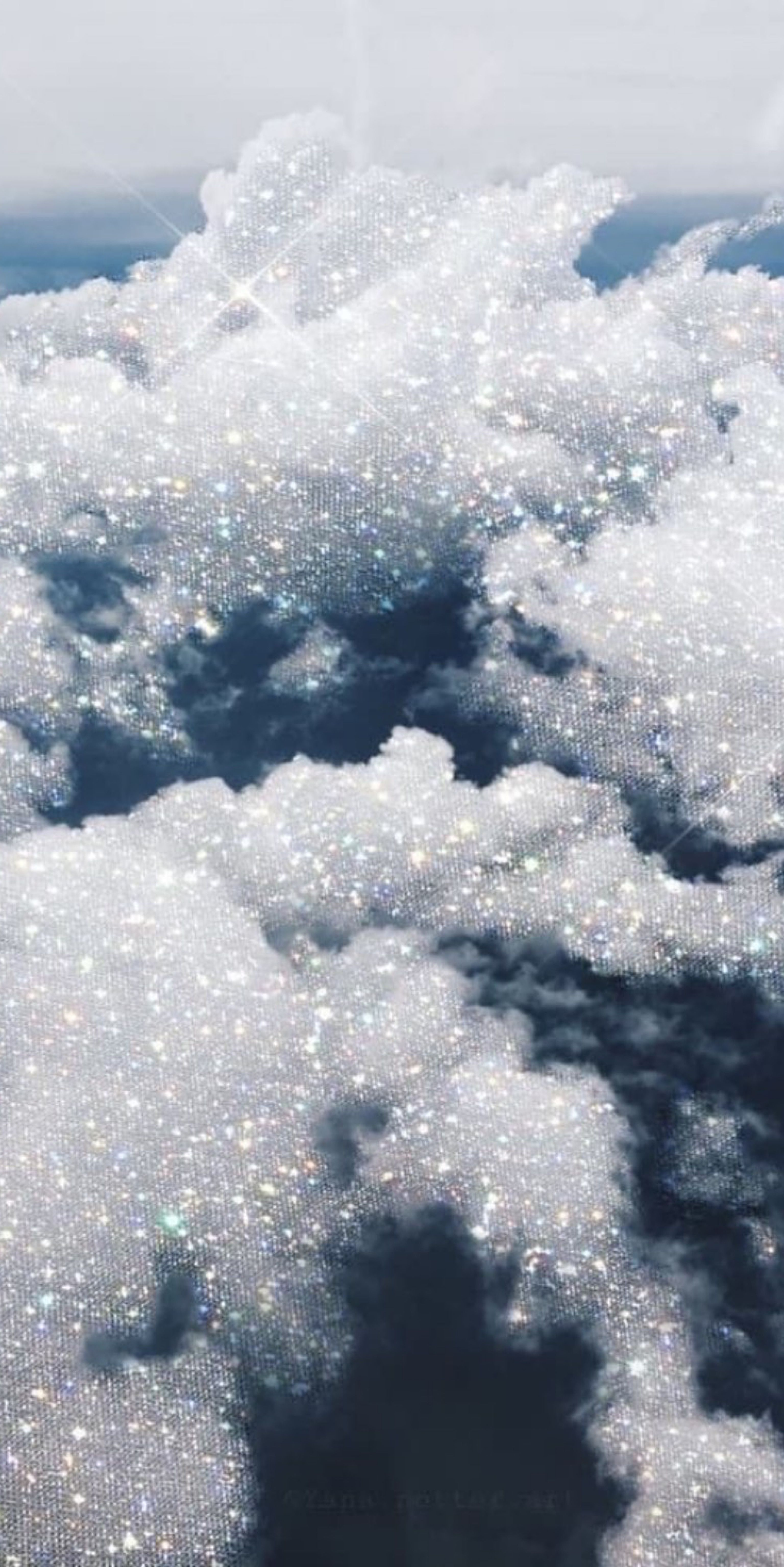 wallpaper Glittery wallpaper Iphone wallpaper sky Sparkle 3072x6138