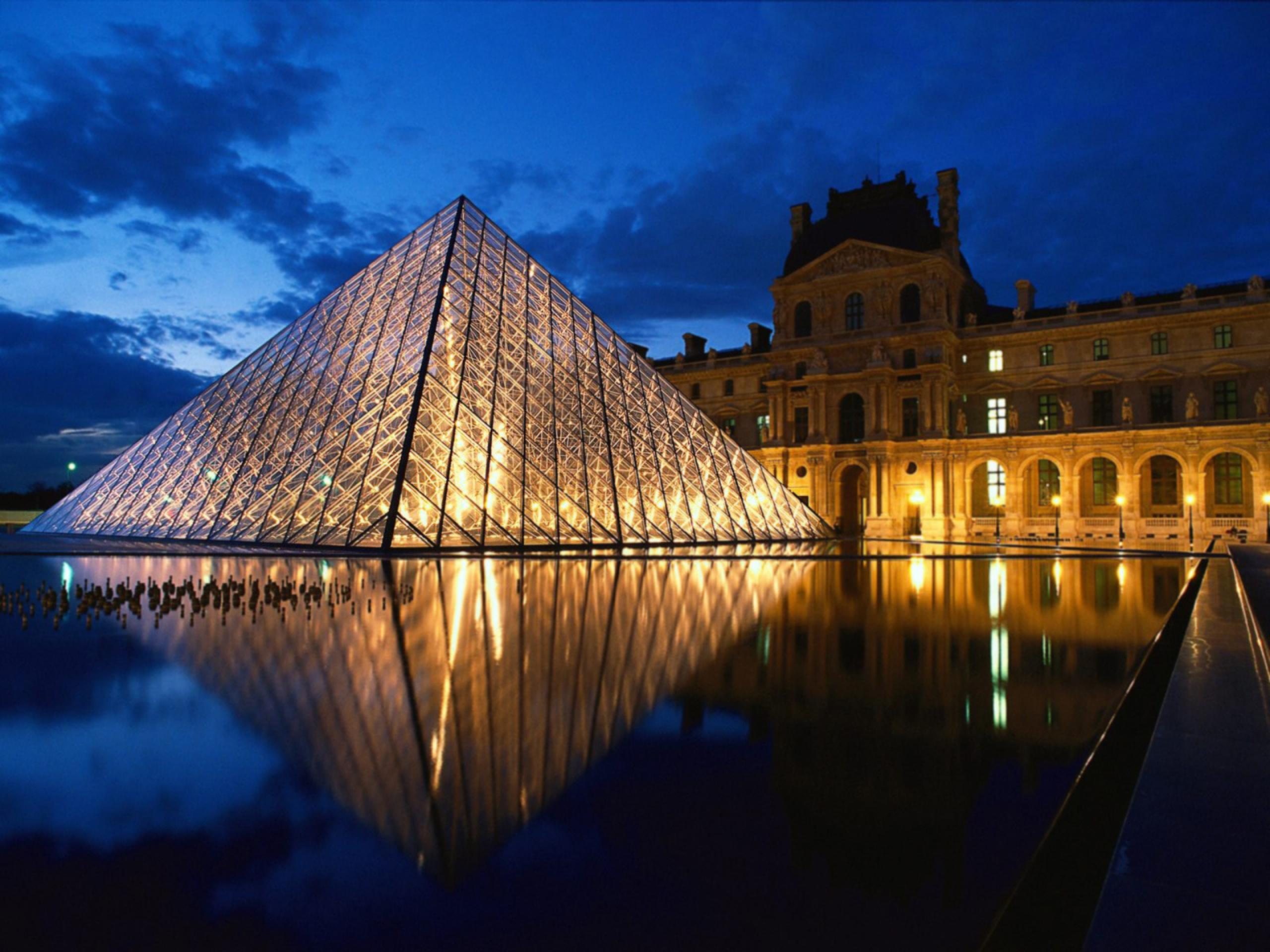 Le Louvre Paris France Wallpaper Download cool HD wallpapers here 2560x1920