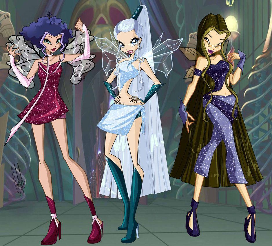 I made the trix as fairys Bases winx basedeviantartcomartB 939x851