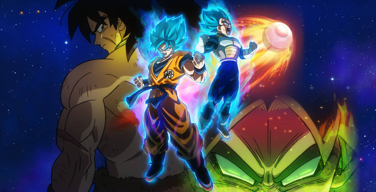 Free Download Dragon Ball Super Broly Movie Wallpaper