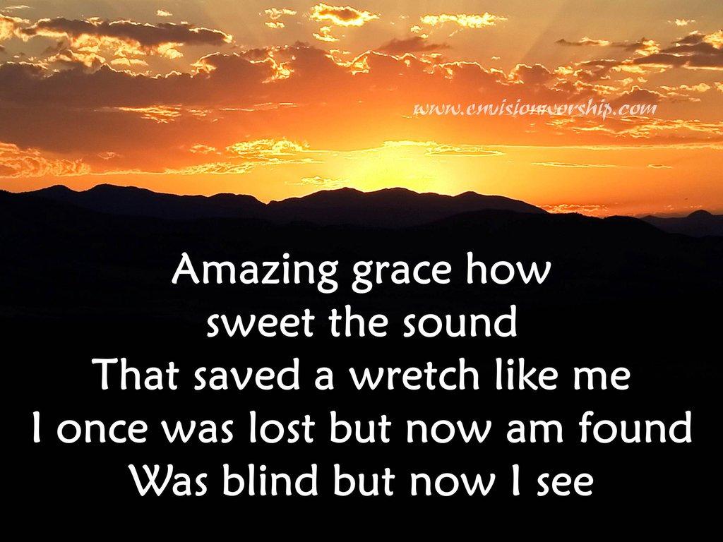 Grace Image  Amazing Grace PowerPoint image  Amazing Grace background 1024x768