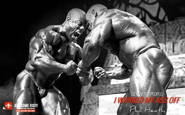 Phil Heath Mr Olympia Wallpaper I worked my ass off 620x388
