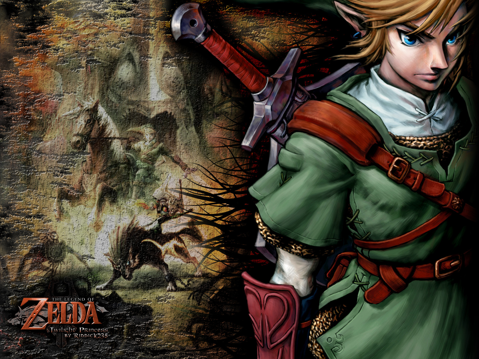 zelda twilight princessHD Fond Ecran Zelda Twilight Princess Wallpaper 1600x1200