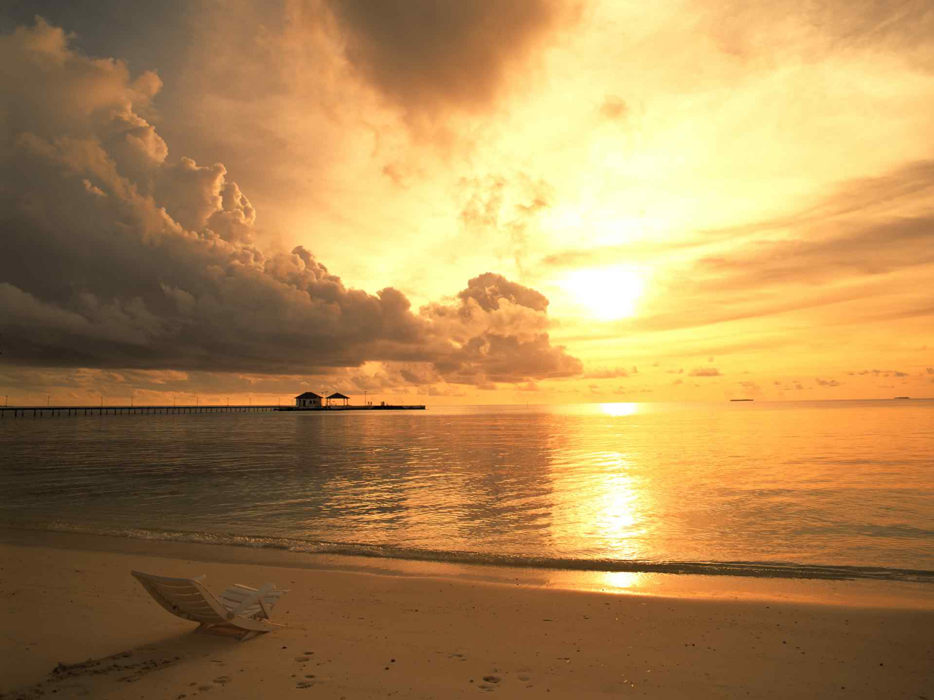 Sunset Beach HD Wallpapers Toptenpackcom 1920x1440
