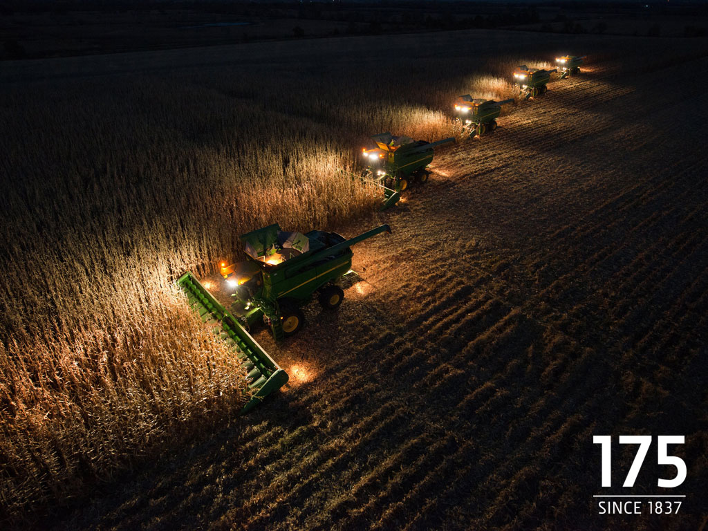 How about lighting up the night with some combines 1024x768