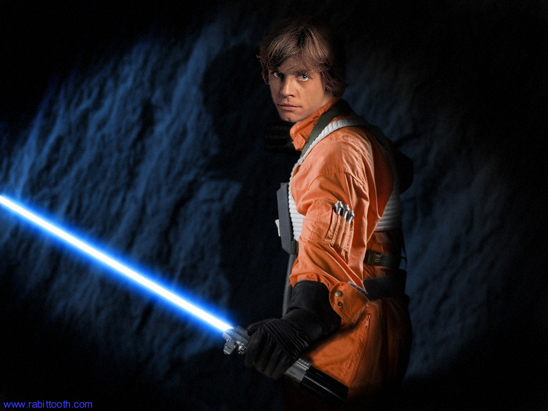 Luke Skywalker alias Mark Hamill ale jako fiktivn postava to 800x600