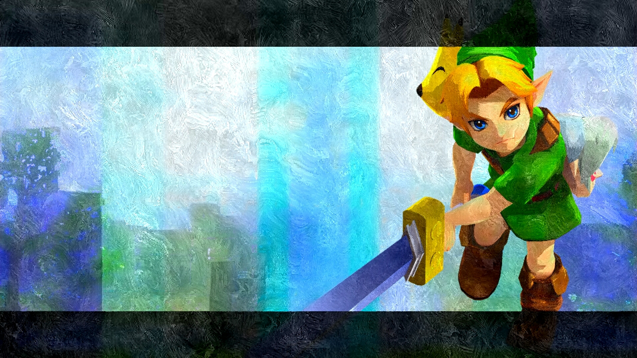 The Legend of Zelda images Young Link Silk Art HD wallpaper and 1280x720