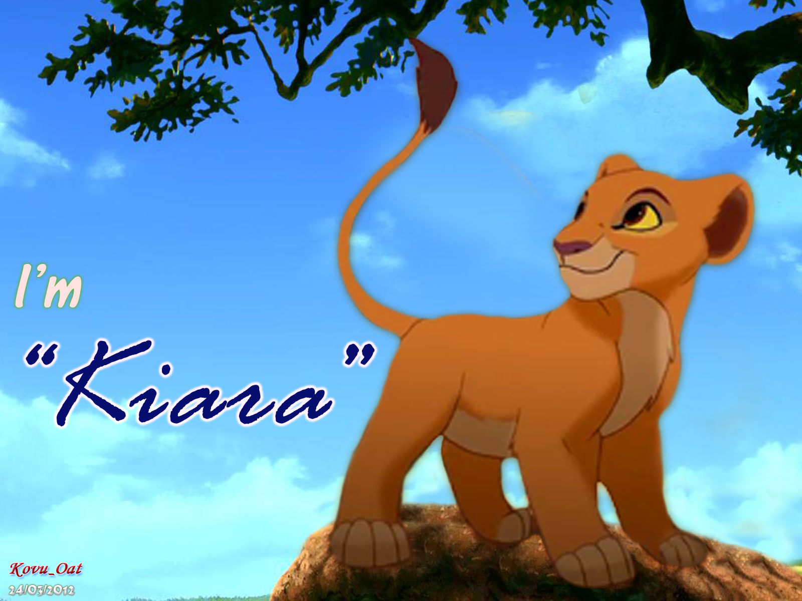 The Lion King Young Kiara Wallpaper HD   The Lion King Wallpaper 1600x1200