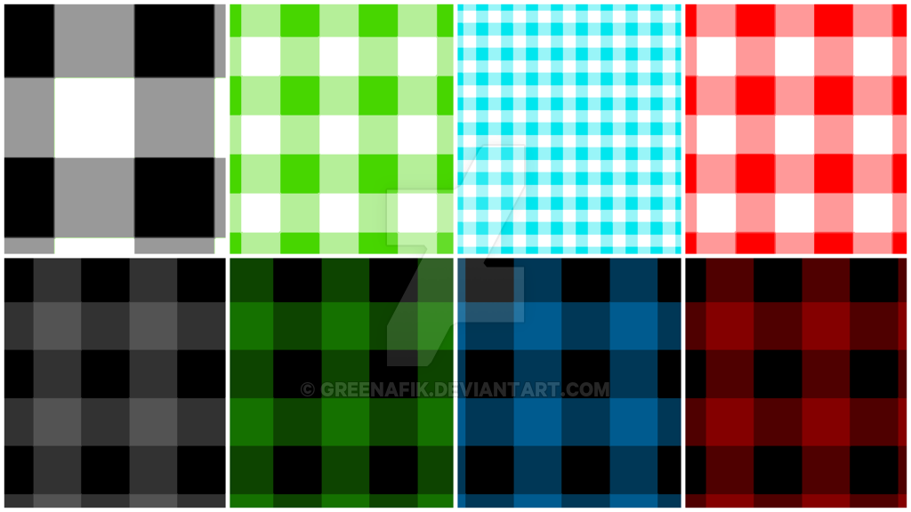 Buffalo Check Pattern   Photoshop Tutorial by Greenafik 1024x576