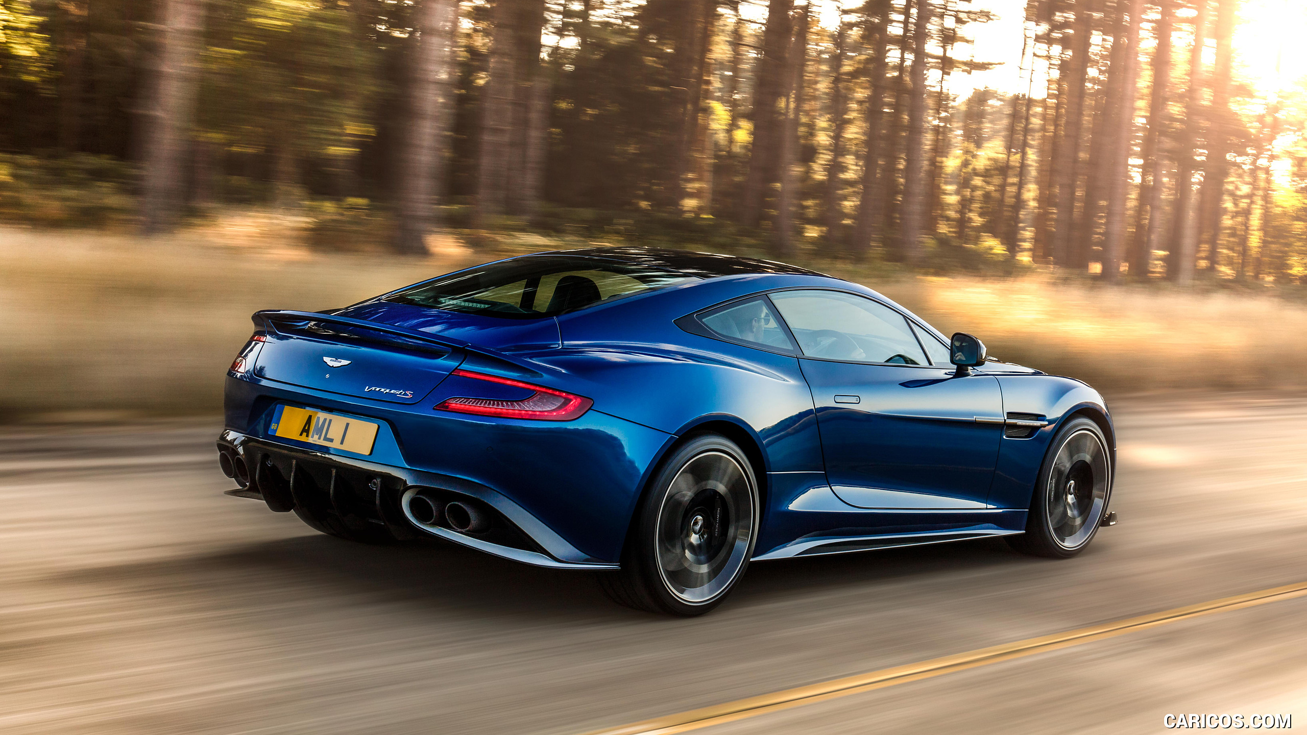2017 Aston Martin Vanquish S   Rear Three Quarter HD Wallpaper 3 2560x1440
