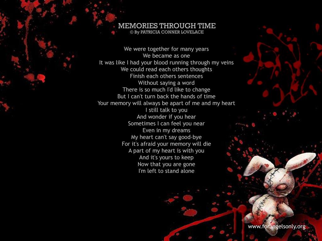 Emo Wallpaper Broken Heart Poetry Wallpaper 1024x768