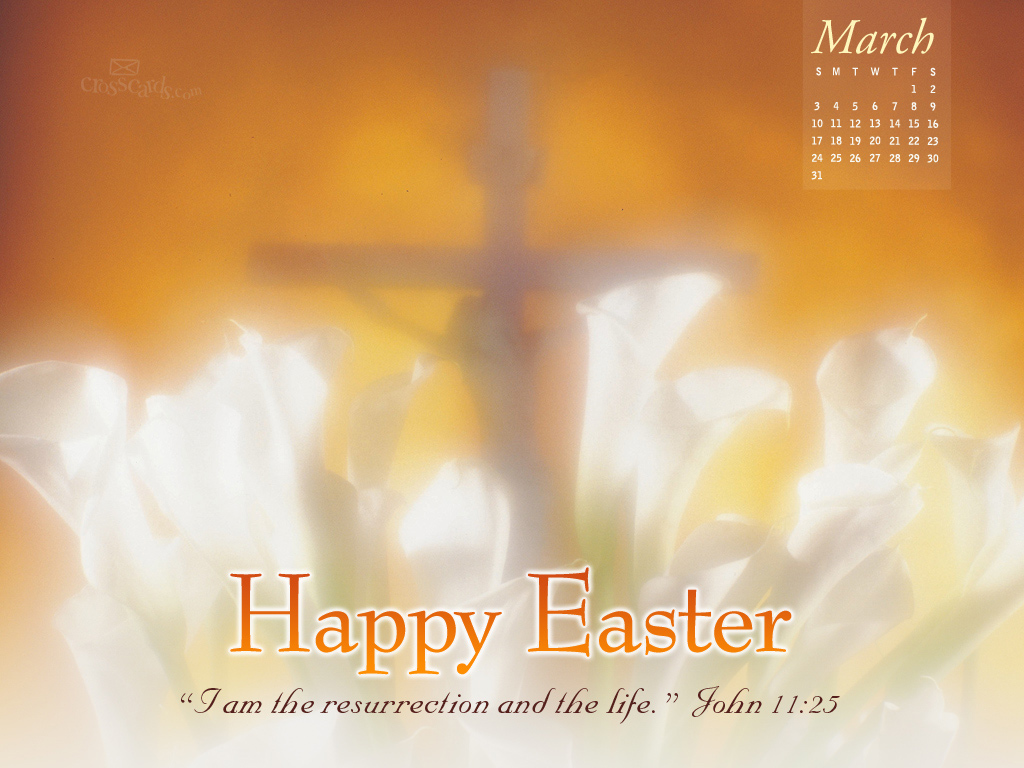 2013 John 11 25 Desktop Calendar Monthly Calendars Wallpaper 1024x768