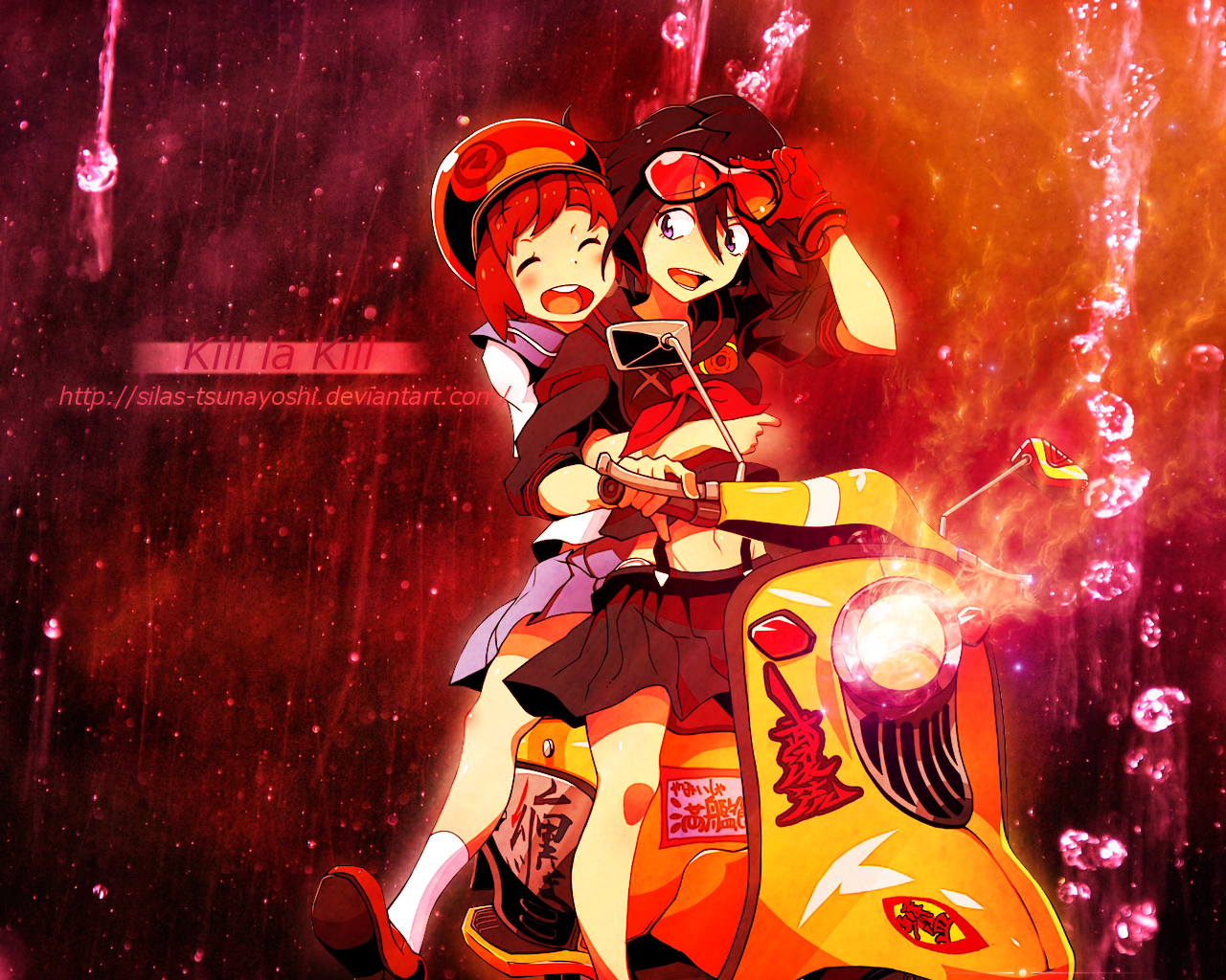 download Kill la Kill Ryuko and Mako WALLPAPER by Silas 1280x1024