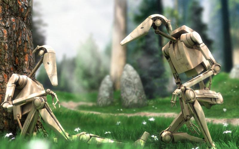 star wars droid battles 1920x1200 wallpaper Space Stars HD Desktop 800x500