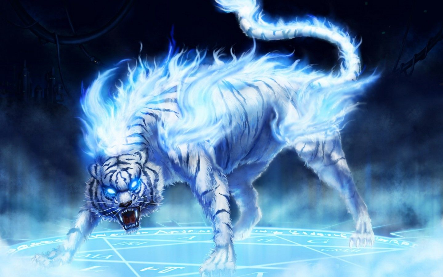 tiger Fantastic fantasy wall paper Fantastic beast wallpapers 1440x900