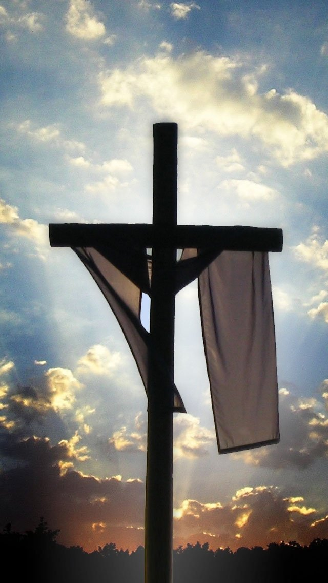 Image Gallery iphone wallpaper easter cross