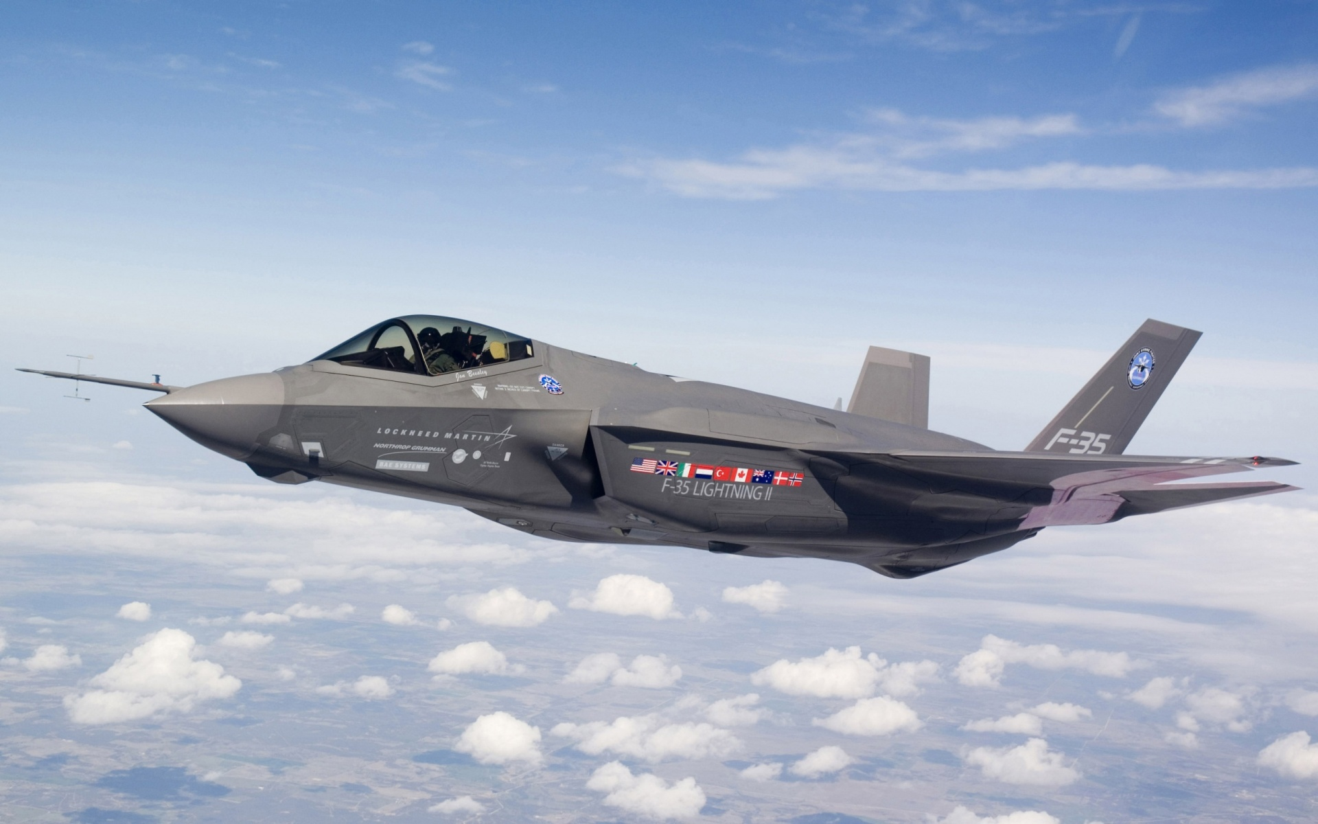 Lockheed Martin F 35 Lightning II Wallpapers 1920x1200