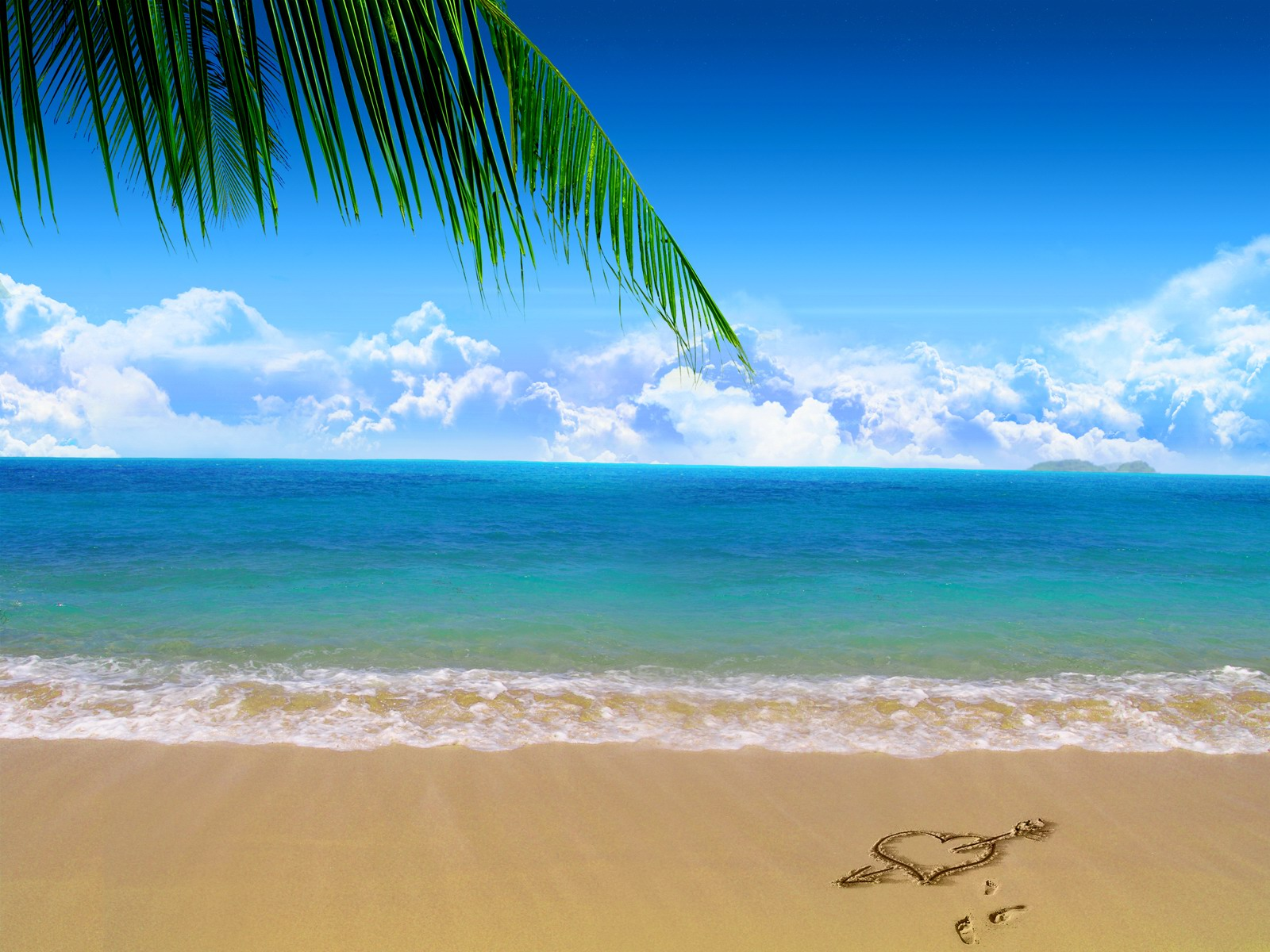 Beach desktop wallpaper 0011   desktop wallpaper downloads 1600x1200