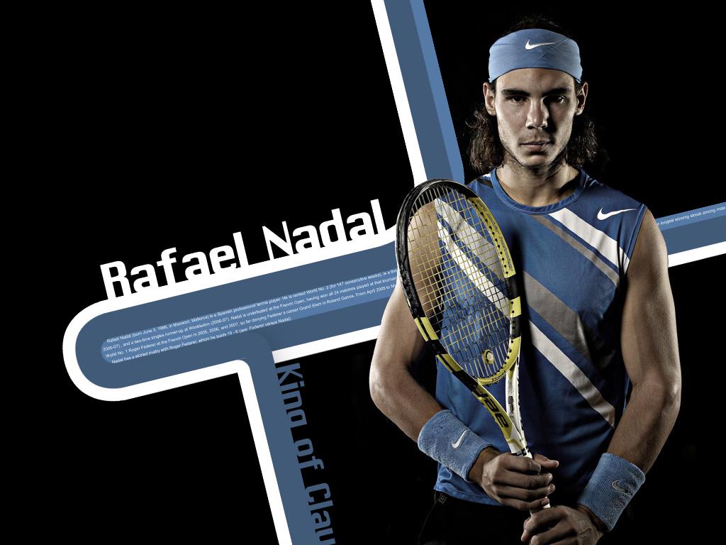 Tennis Stars Rafael Nadal HD Wallpapers 1024x768