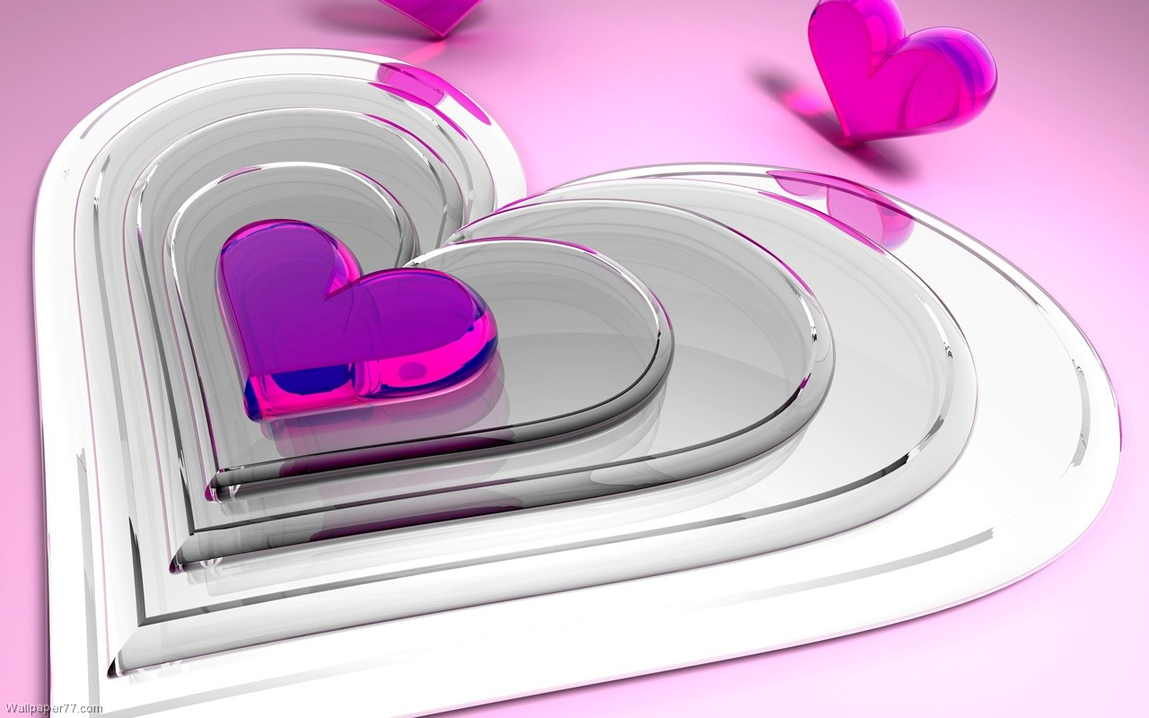 Purple Love Wallpaper: Purple Heart Wallpaper Desktop