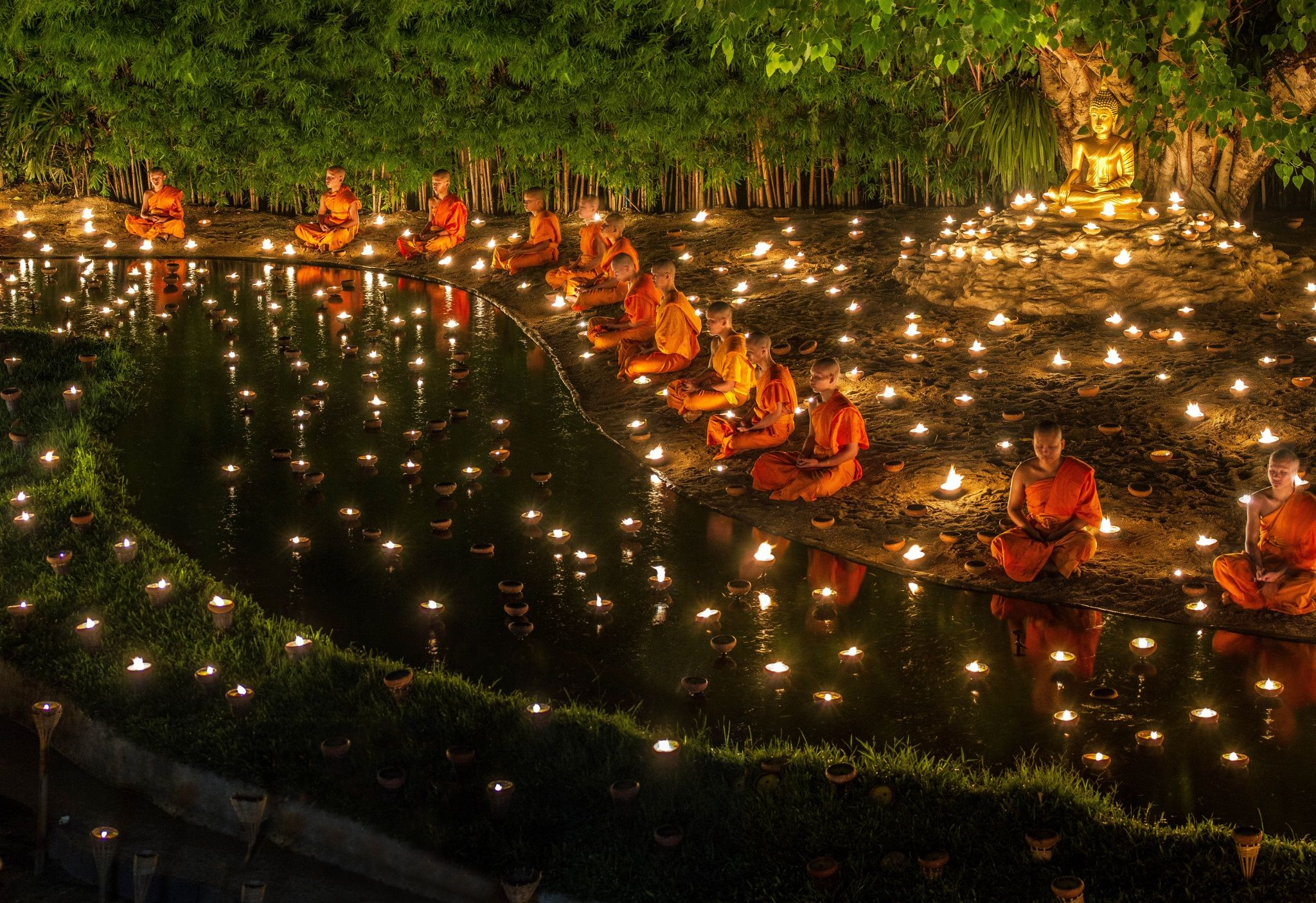 Faith   Asalha Puja Asanha Bucha Celebration Day Tailandia Photo 2048x1406