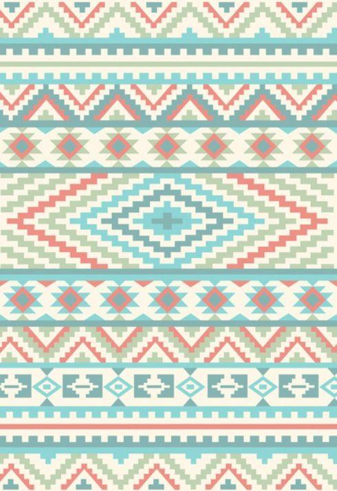 Best 25 Tribal Patterns ideas Aztec tribal 490x713