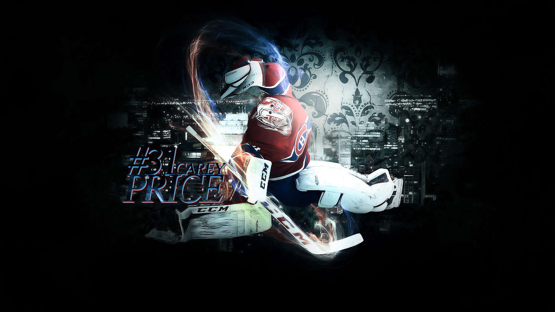 Daily hd wallpaper Carey Price Wallpaper I made for start of NHL 1920x1080