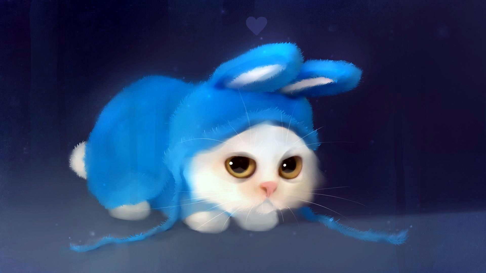 Cute 3d cat desktop image   HD Wallpapers 1920x1080