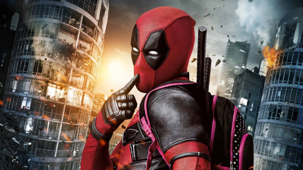 Deadpool HD Wallpaper Wide Desktop Hollywood Movies Wallpapers 1024x576