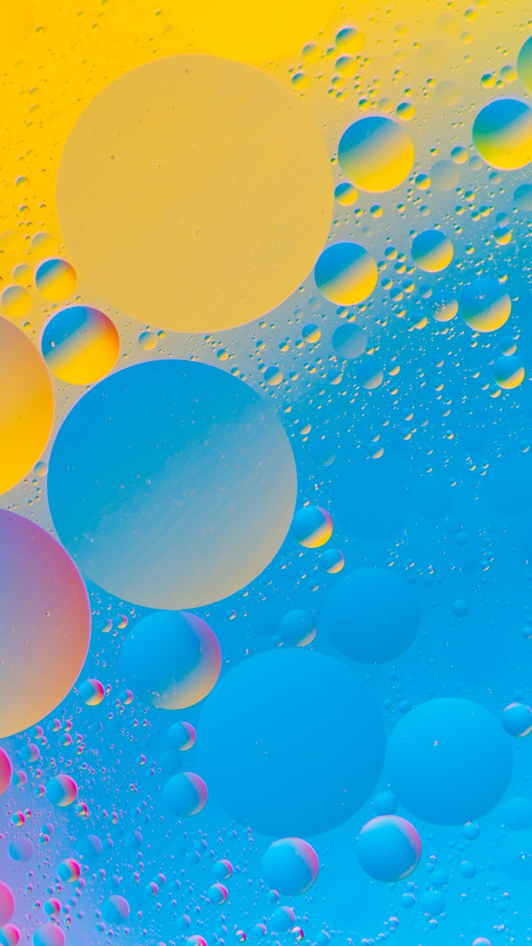 Free Download Colourful Bubbles 4k Hd Abstract Wallpaper Iphone 6