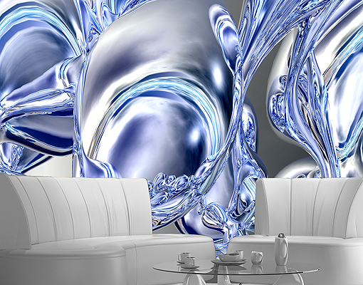 Ebay 3d wallpaper wallpapersafari for Digital wallpaper mural