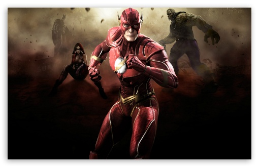 Injustice Gods Among Us   Flash HD wallpaper for Standard 43 54 510x330