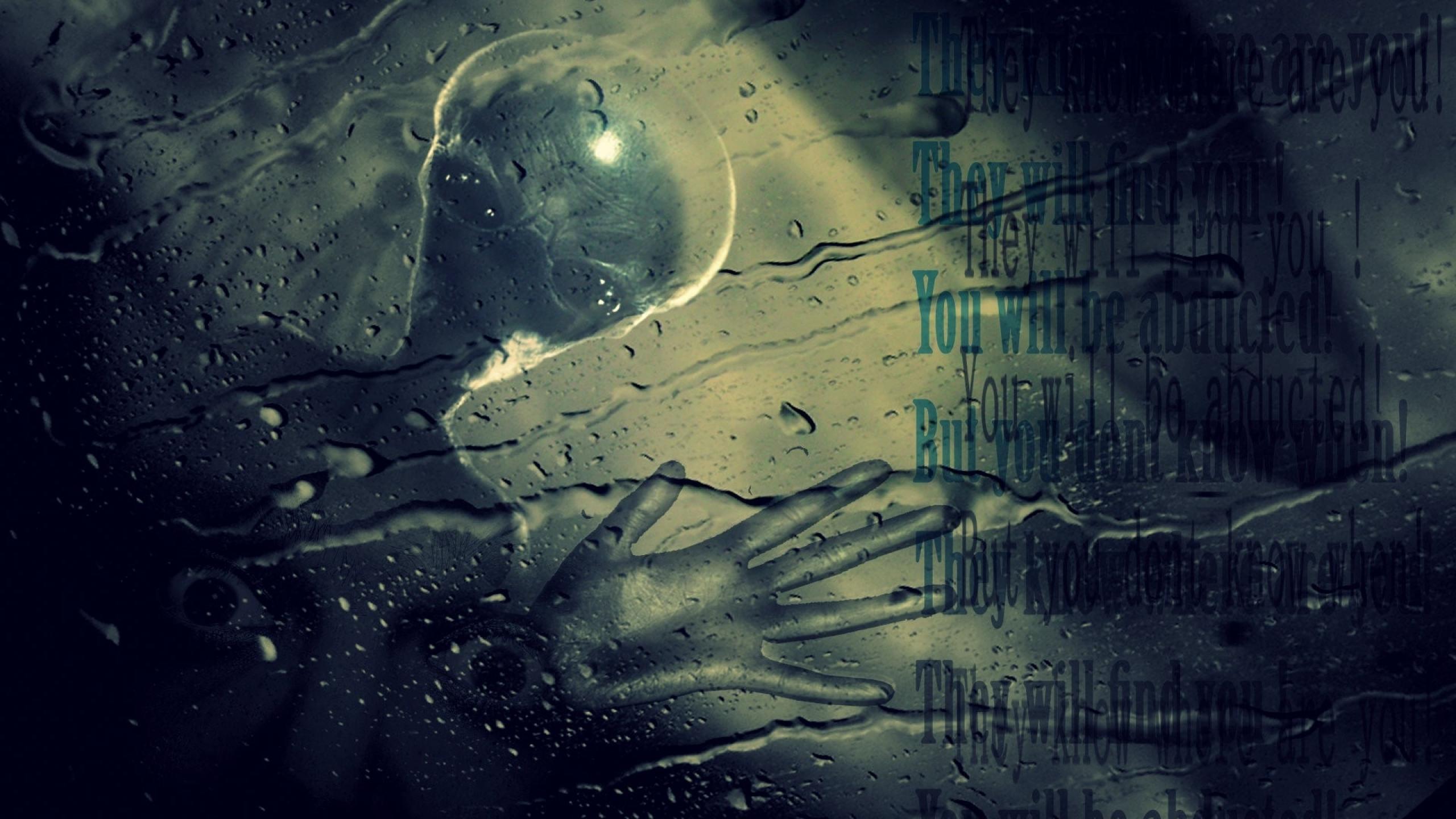 the xfiles alien fear abducted little grey 1920x1080 Art HD Wallpaper 2560x1440
