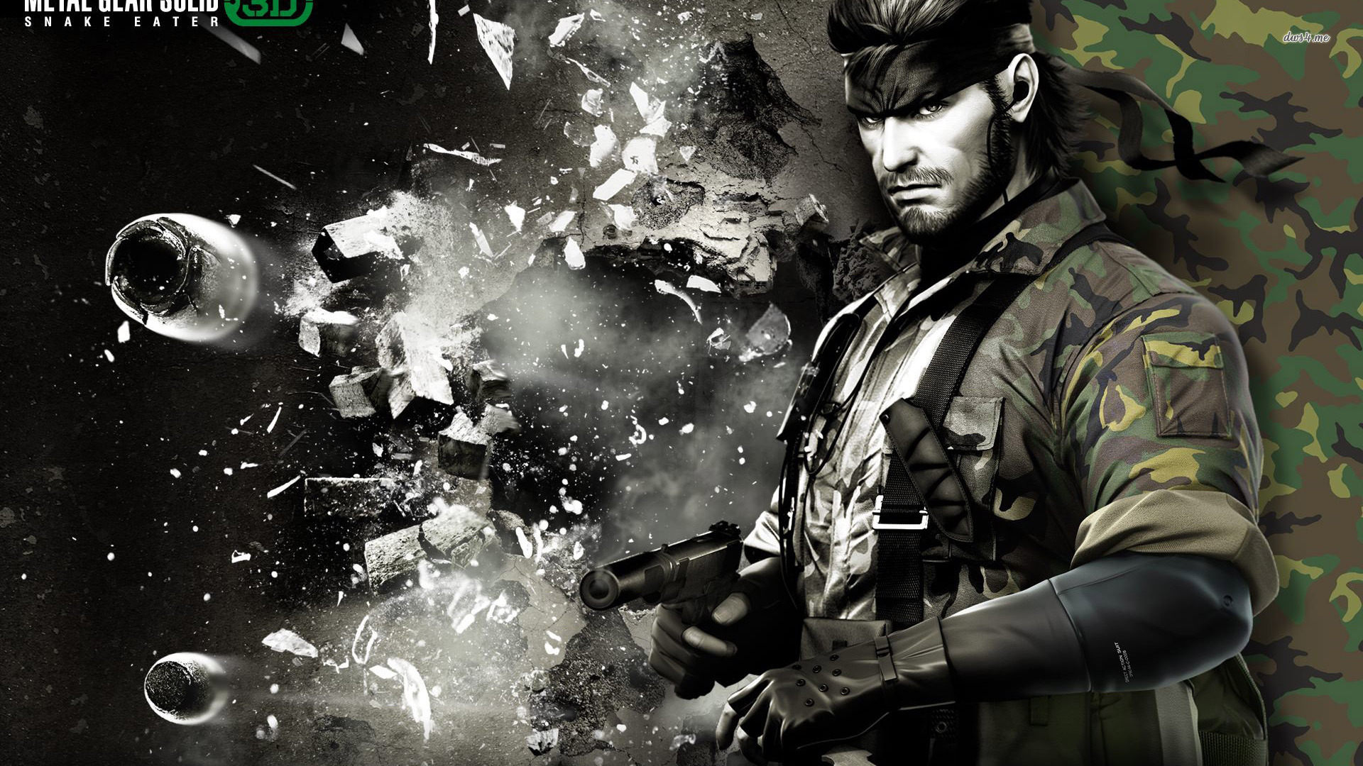 Metal Gear Solid Desktop Wallpaper