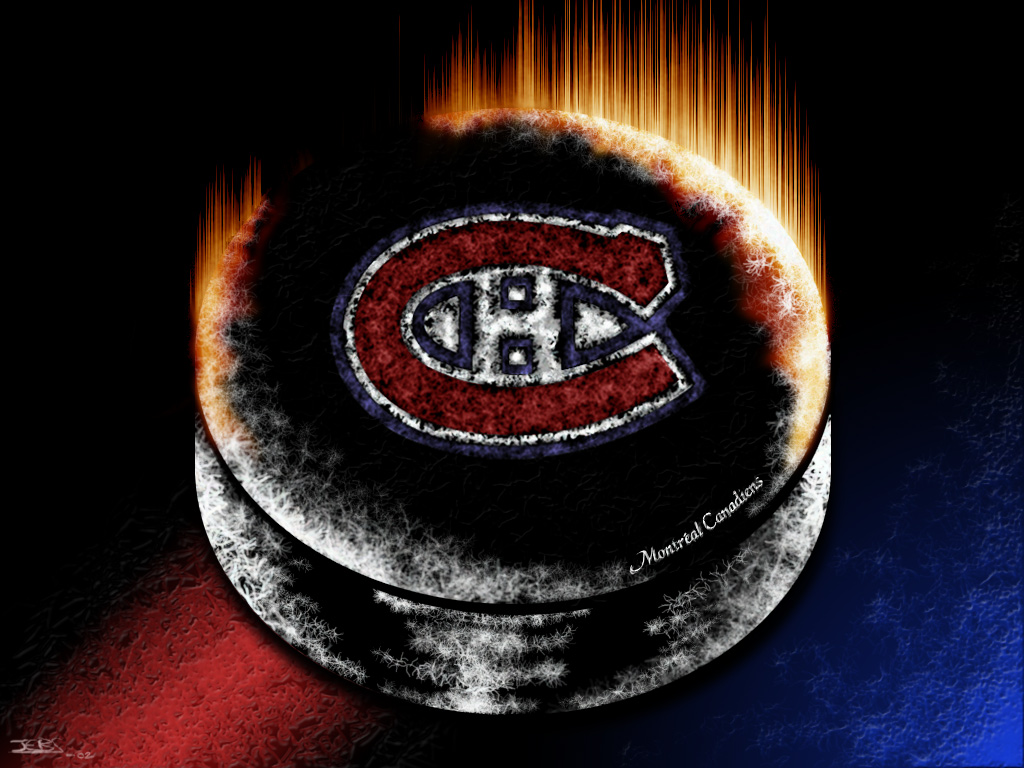 Montreal Canadiens 3D Logo HD Desktop High Definition Wallpapers 1024x768