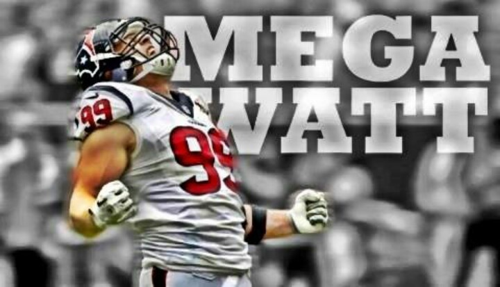 Houston Texans Football JJ Watt Mega Watt 720x413
