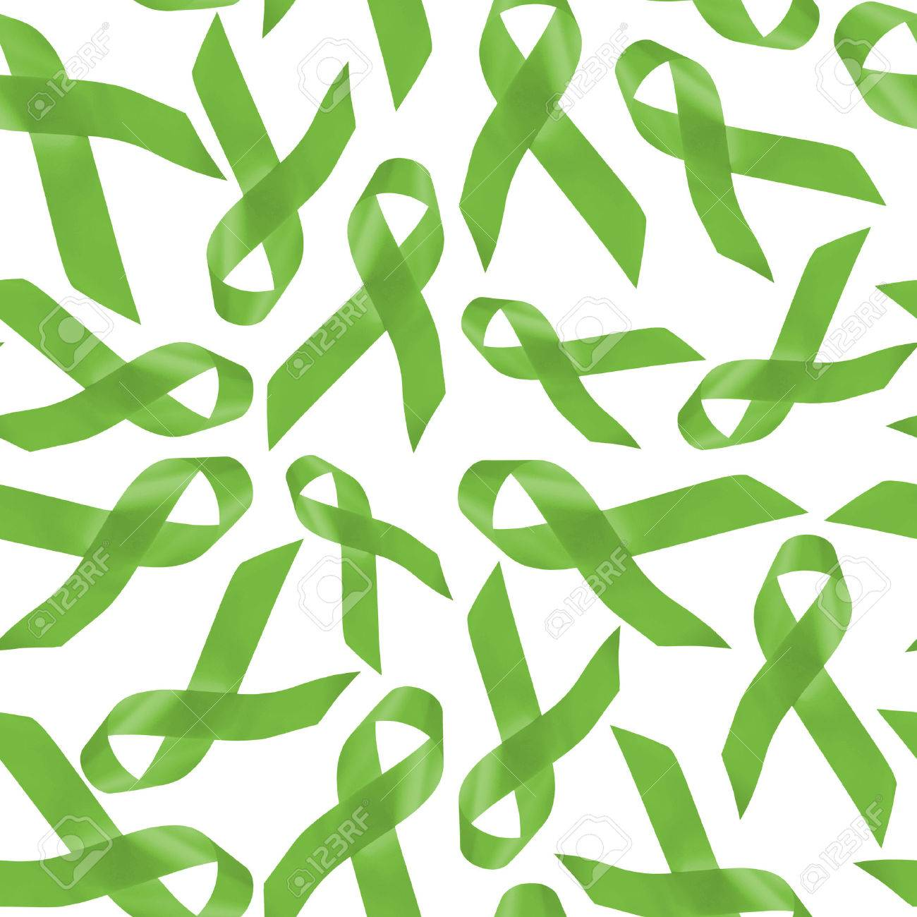 Lymphoma Cancer Awareness Background Seamless Pattern Made Of 1300x1300