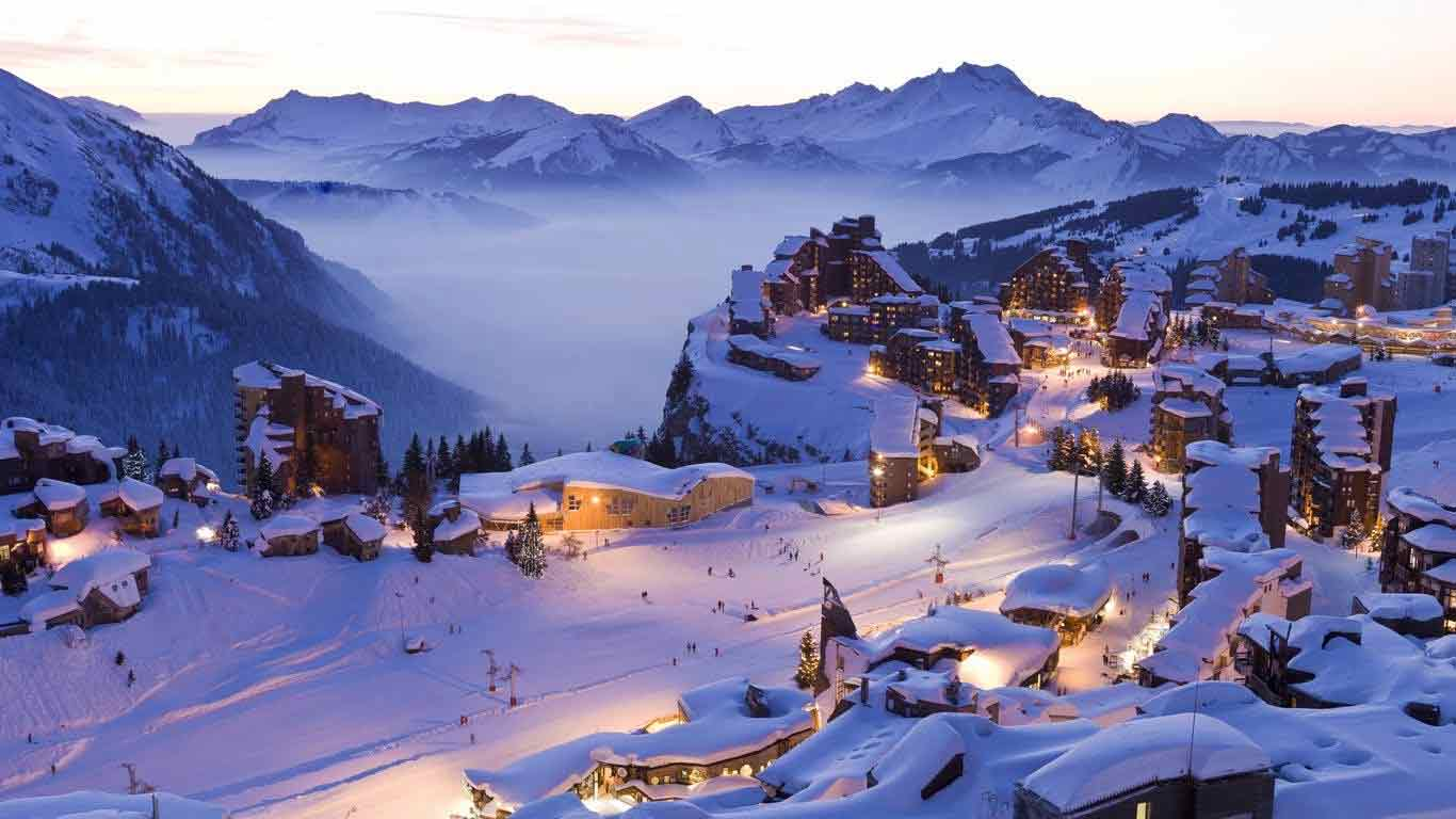 The Best Family Ski Resorts in France PowderBeds 1366x768