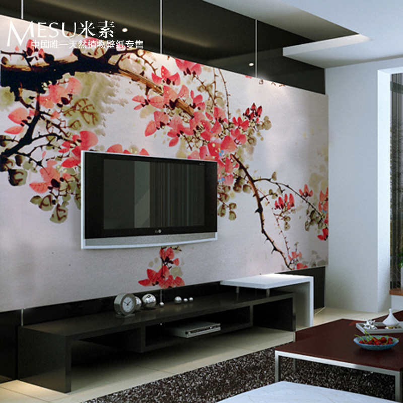 meters sofa tv wall background wallpaper mural chinese style 800x800