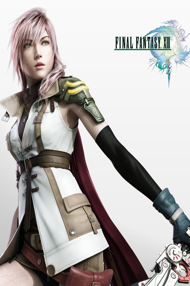 iPhone Hacker BR Final Fantasy XIII Wallpapers 640x960