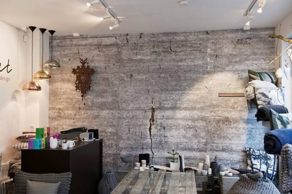 Concrete Wallpapers for An Original Industrial Look by Tom Haga 600x400