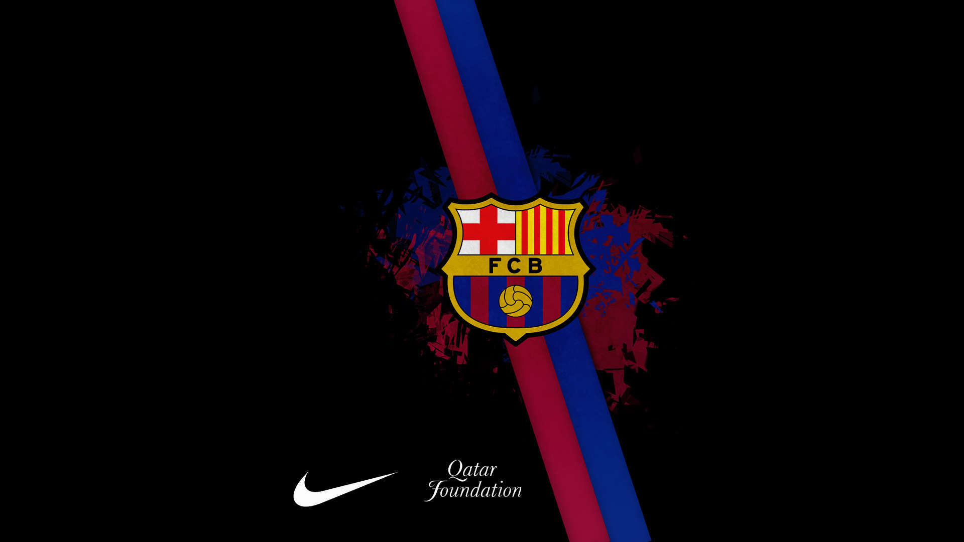 FC Barcelona Logo Wallpaper Download 1920x1080