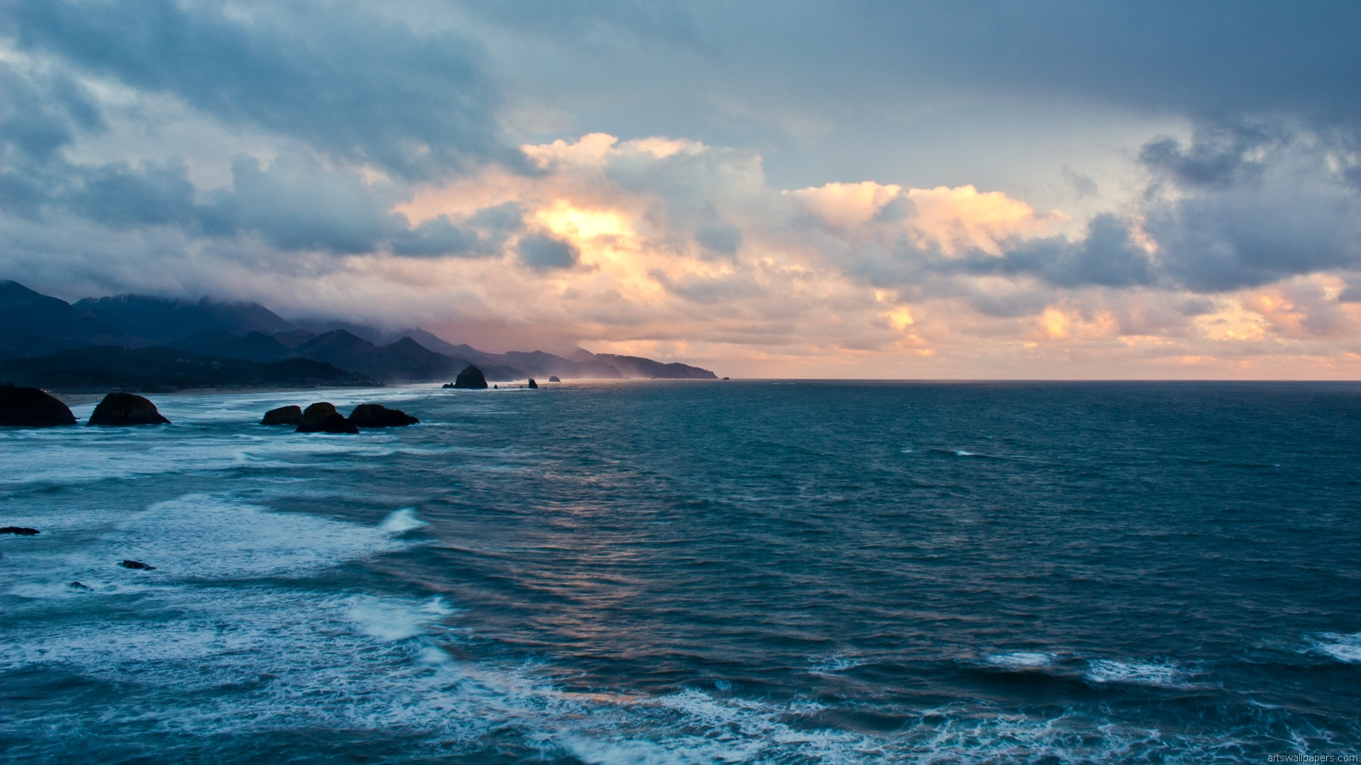 Sea Ocean Wallpaper HD Full HD 1080p Desktop Wallpaper 1920x1080