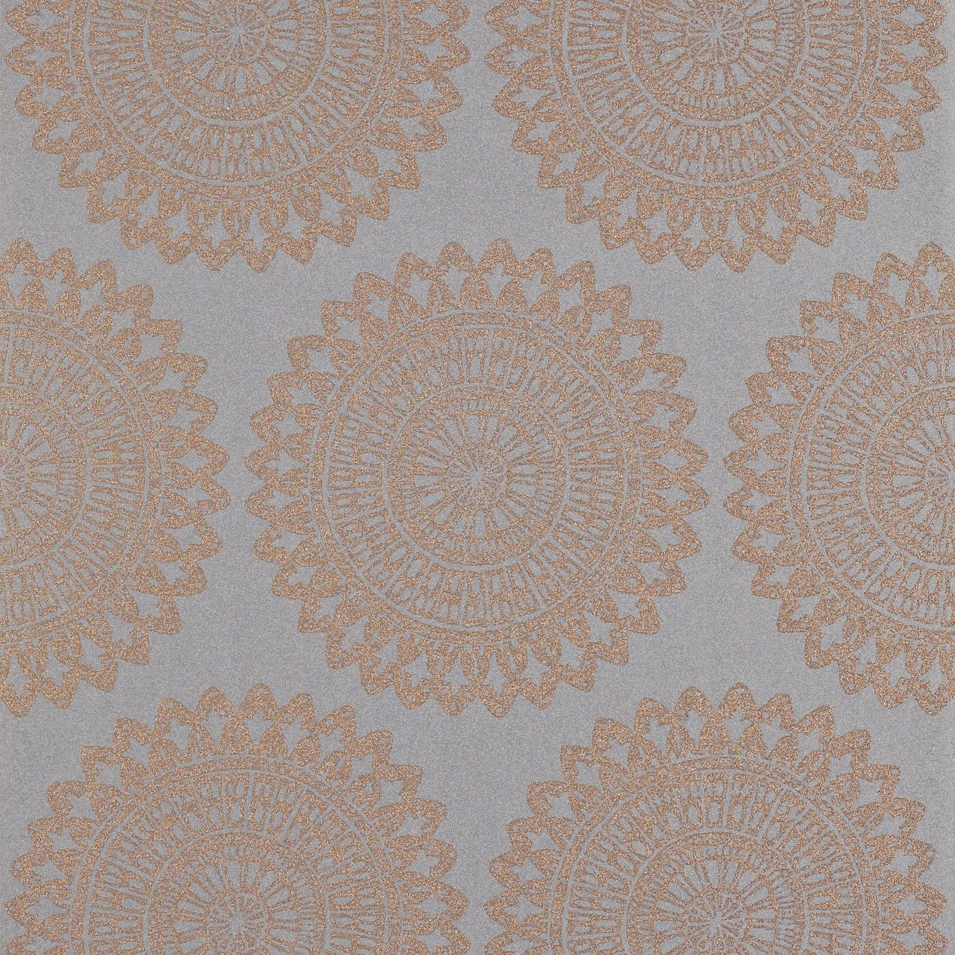 Copper Grey   110628   Medina   Leonida   Harlequin Wallpaper 1386x1386