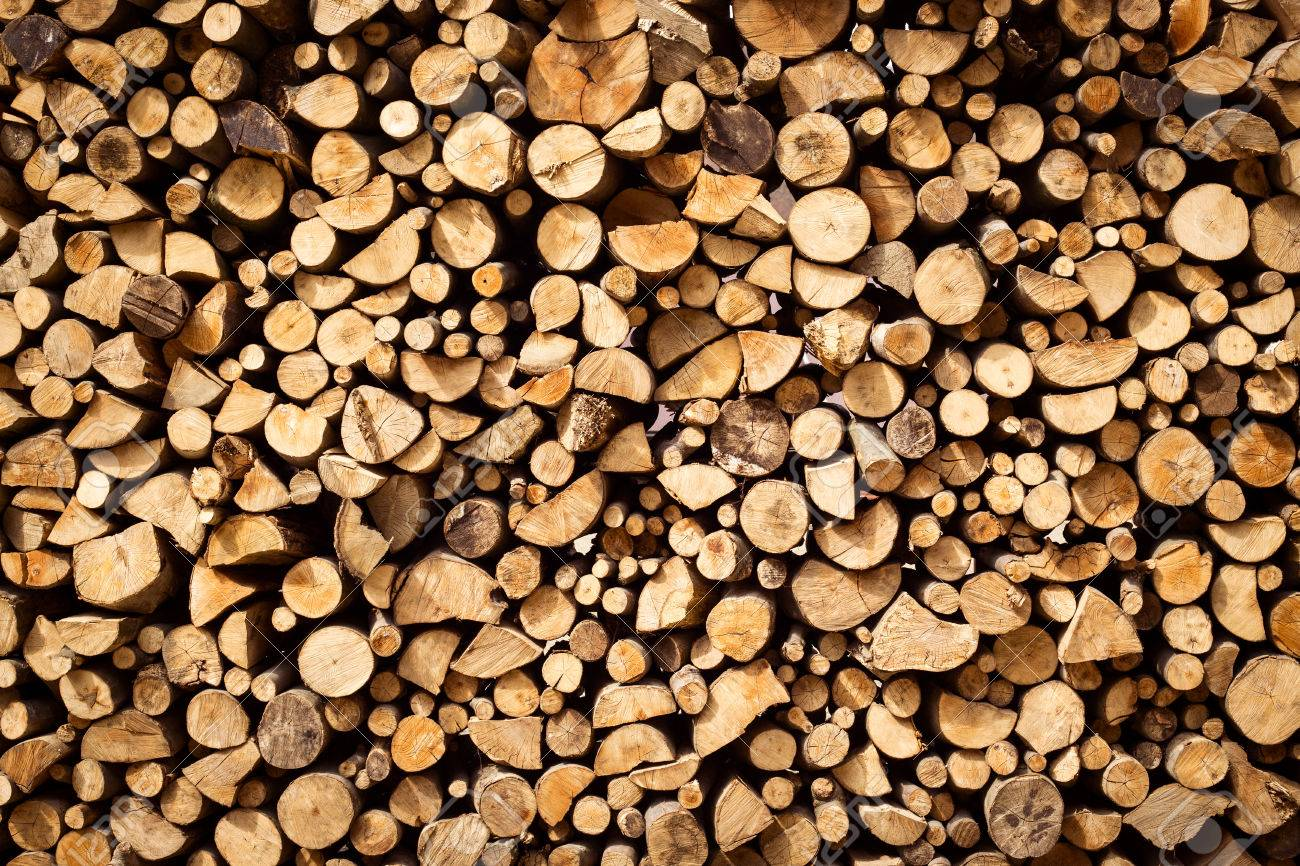 Stacked Firewood Background Stock Photo Picture And Royalty 1300x866