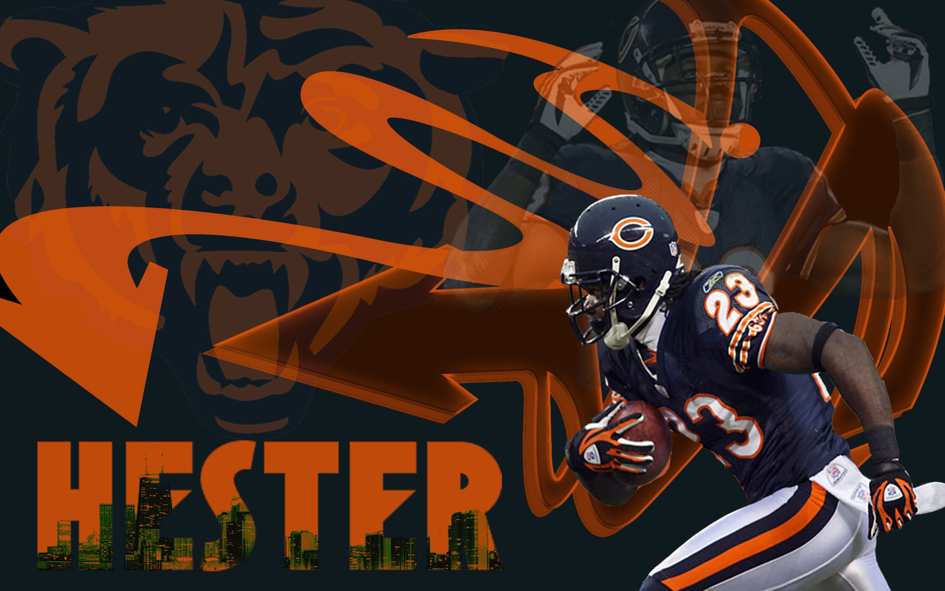 Chicago Bears wallpaper HD wallpaper 1920x1200