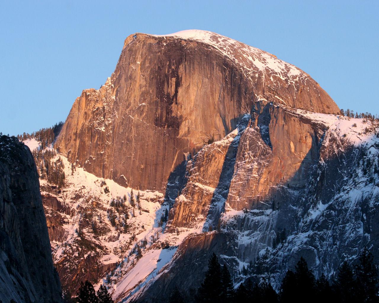 Yosemite Wallpaper   Half Dome 1280x1024
