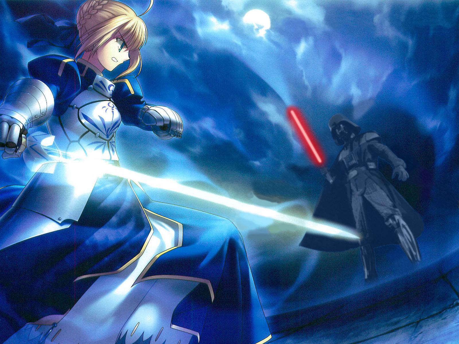 fatestay night photoshop saber star wars konachancom   Konachan 1600x1200