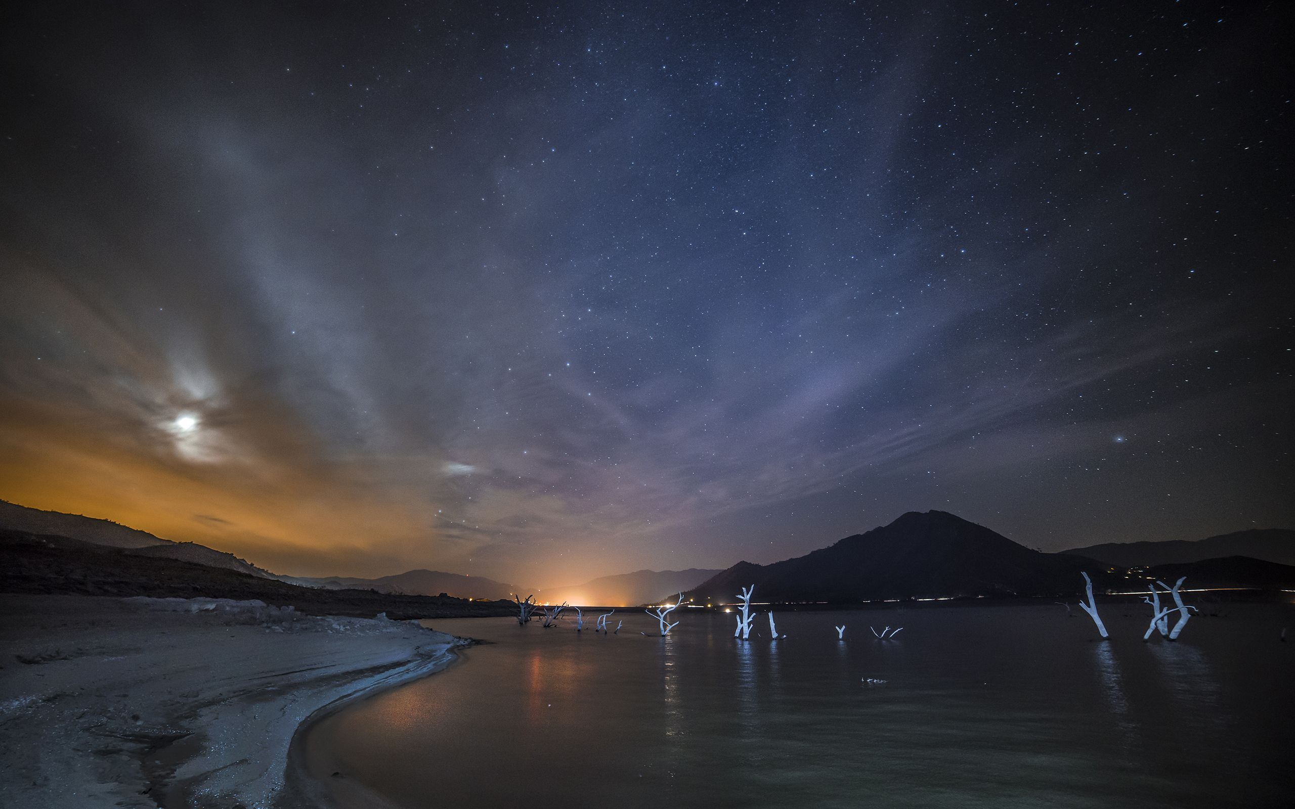 night sky wallpapers full hd wallpaper search page 2 night sky above 2560x1600